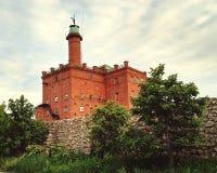 苏联城堡 图库摄影