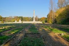 苏联士兵公墓陵墓在华沙 图库摄影