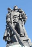 苏联士兵,柏林 图库摄影
