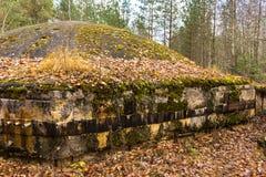 苏联导弹发射井 库存照片