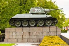 苏联战争纪念建筑(蒂尔加滕)在柏林 库存照片