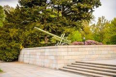 苏联战争纪念建筑(蒂尔加滕)在柏林 免版税图库摄影