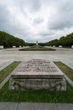苏联战争纪念建筑柏林 库存照片