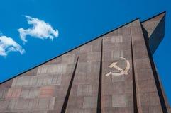 苏联战争纪念建筑 免版税库存照片
