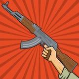 苏联攻击步枪 库存图片