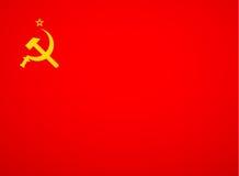 苏联旗子传染媒介 免版税库存照片