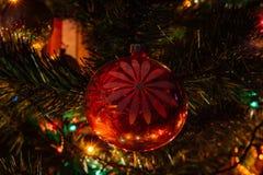 苏联期间的圣诞节装饰 库存图片