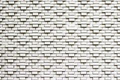 苏联样式白色砖墙 免版税库存照片