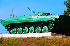 苏联步兵作战车辆 免版税库存照片