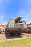 苏联火箭发射器导弹复杂TR-1临时雇员2P120  免版税库存照片