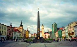 苏联纪念品, Banska Bystrica,斯洛伐克 库存图片