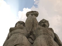 苏联纪念碑 库存照片