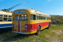 苏联葡萄酒公共汽车ZIS-154 免版税图库摄影