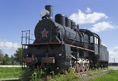 苏联蒸汽机车30s 库存照片