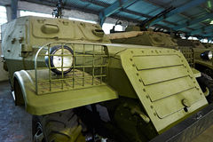 苏联装甲运兵车BTR-152 库存图片