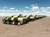 苏联轻型坦克 库存照片