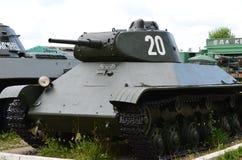 苏联轻型坦克T-50 图库摄影