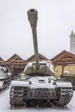 苏联重的坦克IS-2 免版税库存图片