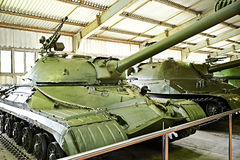 苏联重的坦克T-10 免版税库存图片
