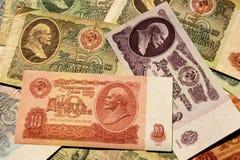 苏联金钱 免版税库存图片