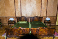 苏联领导(斯大林, Kh的前国家的卧室 库存图片
