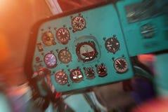 苏联直升机 库存照片