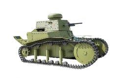 苏联轻型坦克T-18 免版税库存图片