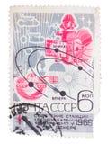 苏联-大约1969年:邮票在展示打印了一ser 图库摄影