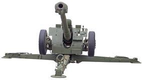 苏联D-30短程高射炮 图库摄影