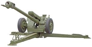 苏联D-30短程高射炮 库存照片