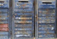 苏联letterbox纹理 免版税图库摄影