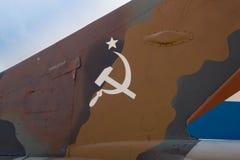 苏联Mig战斗机在古巴 库存图片