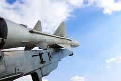 苏联S-75导弹 免版税库存照片