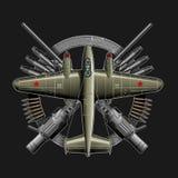 苏联ww2飞机 免版税库存图片