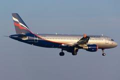 苏航空中客车A320 免版税库存图片