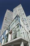 苏荷区Jianwai地区的摩天大楼,北京,中国 库存图片