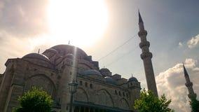 苏莱曼清真寺 库存照片