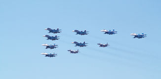 苏霍伊Su34 su27米高扬米格-29 库存图片