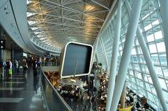苏黎世机场,瑞士 库存照片