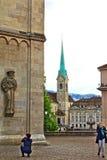 苏黎世地标瑞士 库存图片