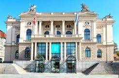 苏黎世歌剧院 它是苏黎世歌剧的家自1891以来 图库摄影