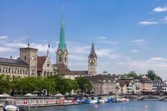苏黎世瑞士 免版税库存照片