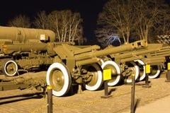 苏维埃二战D-1短程高射炮M1943 免版税库存照片