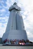 苏维埃北极的纪念防御者 图库摄影