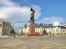 苏维埃的纪念碑战斗机 库存图片