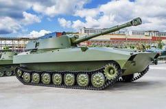 苏维埃122 mm自走短程高射炮2S1 图库摄影