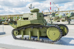 18苏维埃t坦克 库存照片