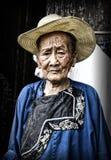 苗族少数的妇女 库存图片