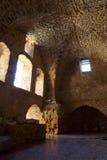 英亩templar城堡的骑士 免版税库存图片