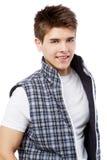 英俊的人年轻人 免版税图库摄影